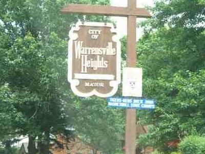 Warrensville Heights Welcome Sign