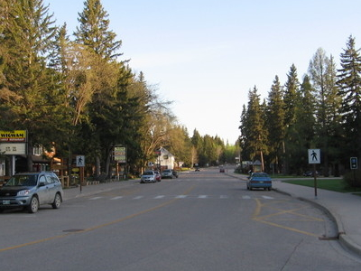 Wasagaming Drive Business District