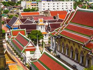 Half Day Bangkok Temples Photos