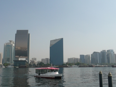 Water Bus In  Dubai  Creek