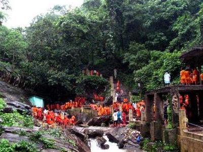 Waterfall At Harishankar