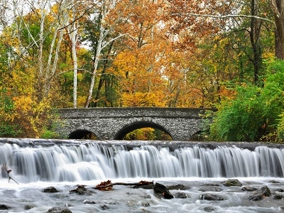 Waterfall At Sharon Woods - Southwest Ohio