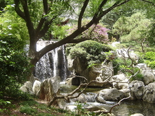 Waterfalls In The Garden