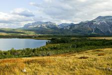 Waterton Valley Trail Views At Glacier - Montana - USA