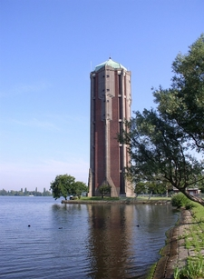 Water Tower Of Aalsmeer