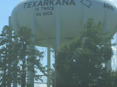 Water Tower In Texarkana Texas