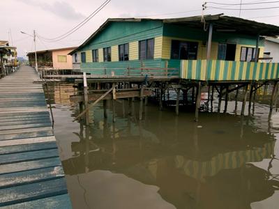 Water Village - Labuan Tourist