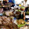 Mercado flotante Wat Lampaya