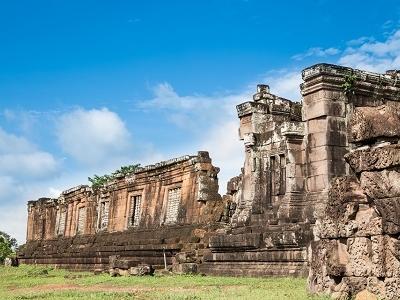 Wat Phu Ruins In Champasak