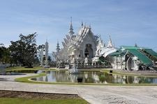 Wat Rong Khun Lake