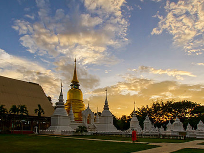 Wat Suan Dok View