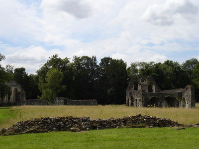 The Ruins Of Waverley Abbey