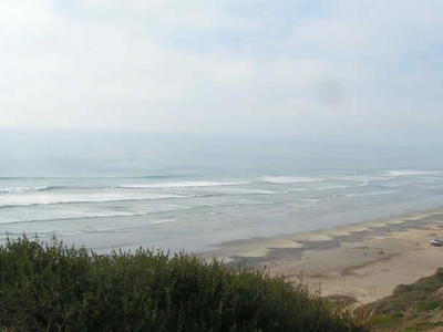 Waves At San Onofre State Beach