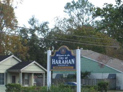 Welcome Sign On Jefferson Highway