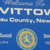 Welcome To Levittown Sign