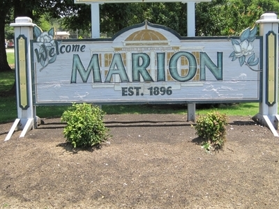 Welcome To Marion Sign