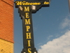 Welcome To Memphis Sign