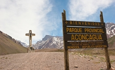 Welcome To Parque Provincial Aconcagua In Argentina