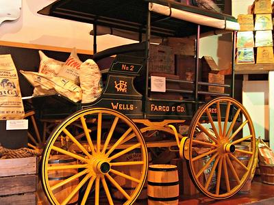 Wells Fargo Delivery Wagon Exhibit
