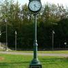 Wells Maine Transportation Center Memorial Clock