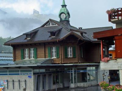 Wengen Bahnhof