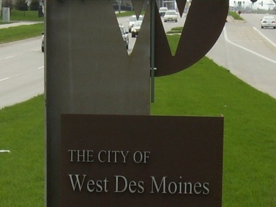 West Des Moines Welcome Sign