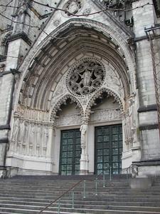 Western Entrance On Amsterdam Avenue