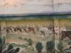 Western Mural In Hico Texas