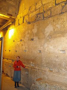 Western Stone Side View - Jerusalem - Israel