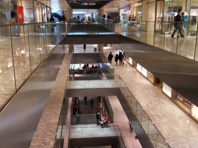 Westfield Sydney Interior