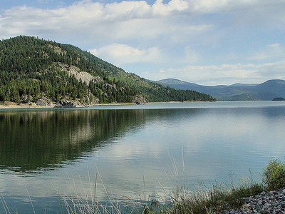 West Lakes Trail Views - Glacier - Montana - USA