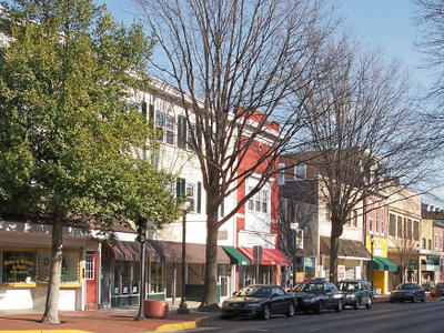 West Loockerman Street In Downtown Dover
