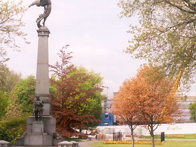 The War Memorial In Weston Park