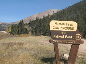 Weston Pass Campground