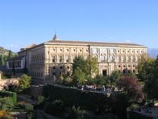 West Side Of Palacio De Carlos