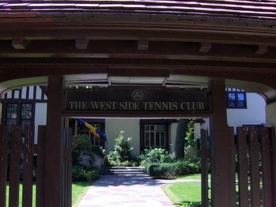 Entrance Of West Side Tennis Club