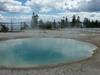 West Thumb Information Station - Yellowstone - Wyoming - USA