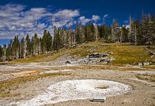 West Triplet Geyser - Yellowstone - USA