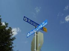 A West University Place Street Sign