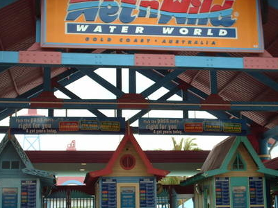 The Entrance To Wet'n'Wild Water World