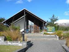 Whakapapa Visitor Centre - Tongariro National Park - New Zealand