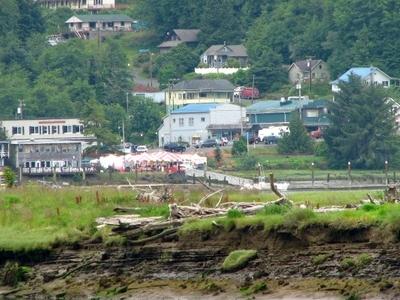 Wheeler, As Seen Across The Nehalem River Estuary