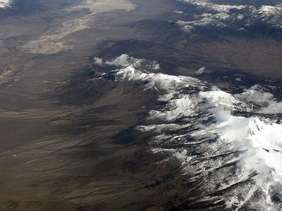 Wheeler Peak And The Snake Range