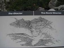 Wheeler Peak Glacier Sign