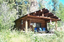 White Grass Ranger Station - Grand Tetons - Wyoming - USA