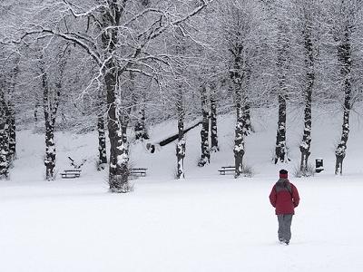 Whitehaven - Walk In Snow - Cumbria UK