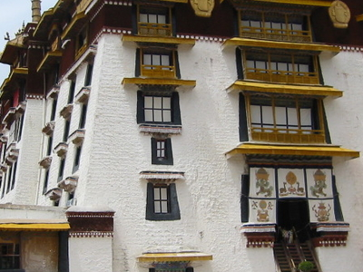 White  Palace Of The  Potala