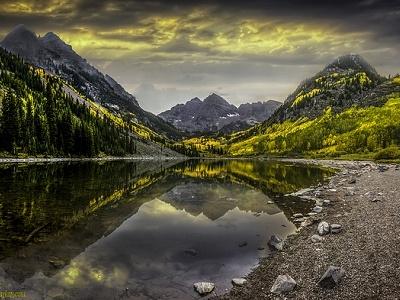 White River National Forest Landscape
