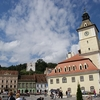 White Tower From Townhall Square In Brasov
