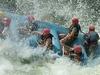 White Water Rafting On Nile In Uganda